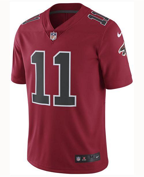 c7d2e36036f84 Nike Men's Julio Jones Atlanta Falcons Limited Color Rush Jersey ...