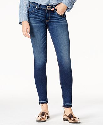Hudson Jeans Pin Point Wash Skinny Jeans