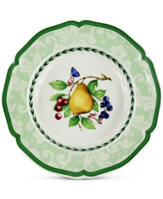 French Garden Antibes Dinnerware Collection Rim Soup Bowl