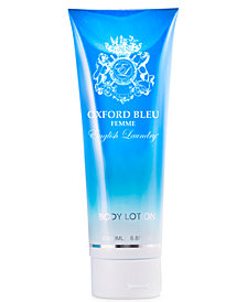 English Laundry Oxford Bleu Femme Eau de Parfum Body Lotion, 6.8 oz