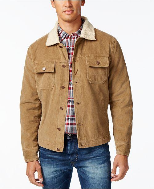 American Rag Men S Corduroy Trucker Jacket Created For