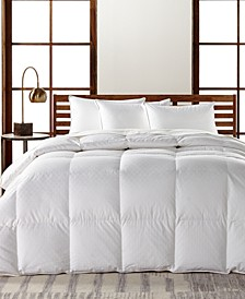 European White Goose Down Lightweight King Comforter, Hypoallergenic UltraClean Down, Created for Macy's