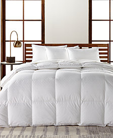 Hotel Collection European White Goose Down Lightweight King Comforter, Hypoallergenic UltraClean Down, Created for Macy's