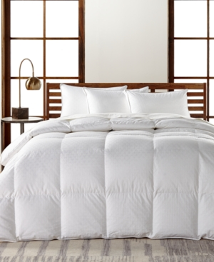Hotel Collection European White Goose Down Lightweight FullQueen Comforter Hypoallergenic UltraClean Down Created for Macys Bedding