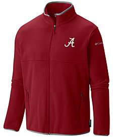 Columbia Men's Alabama Crimson Tide Fuller Ridge Fleece Jacket