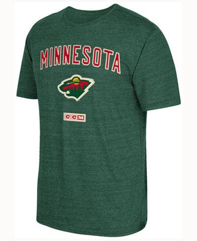 CCM Men's Minnesota Wild Stitches Needed T-shirt