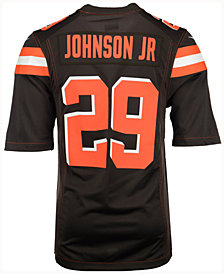 Nike Men's Duke Johnson Cleveland Browns Game Jersey