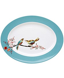 Simply Fine Dinnerware, Chirp Oval Platter