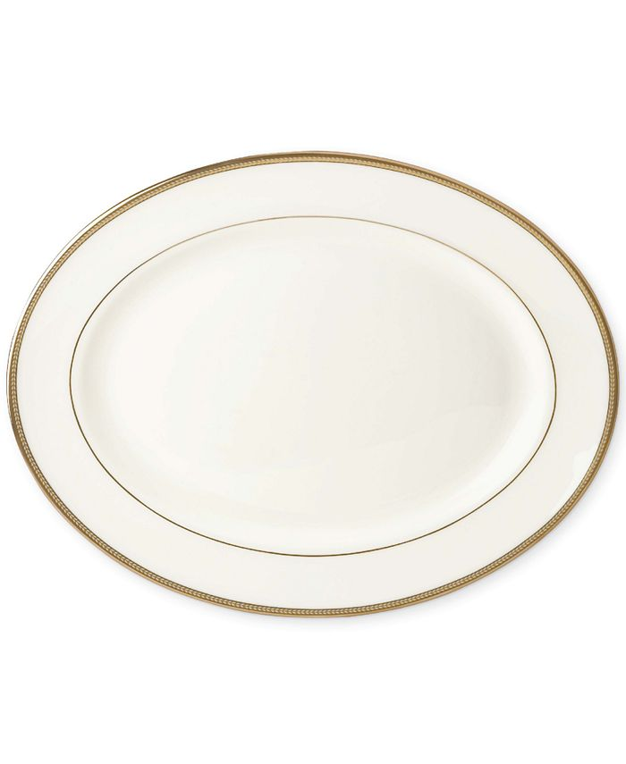 """kate spade new york - """"Sonora Knot"""" 13"""" Oval Platter"""