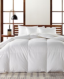 European White Goose Down Medium Weight King Comforter, Hypoallergenic UltraClean Down, Created for Macy's