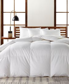 European White Goose Down Medium Weight Full/Queen Comforter, Hypoallergenic UltraClean Down, Created for Macy's