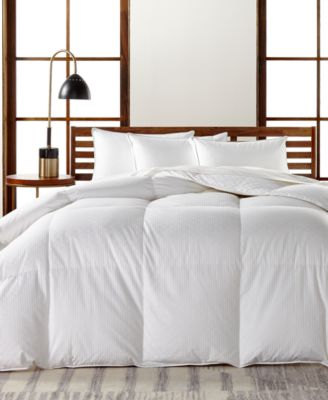 Hotel Collection European White Goose Down Medium Weight Comforters,  Hypoallergenic UltraClean Down, Created For