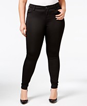 d56f1c384943b Body Sculpt by Celebrity Pink Trendy Plus Size The Lifter Skinny Jeans