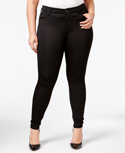 Celebrity Pink Trendy Plus Size The Lifter Skinny Jeans