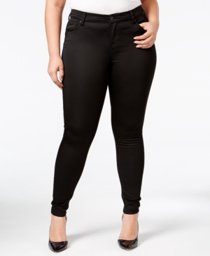 Trendy Plus Size The Mid Rise Lifter Skinny Jeans