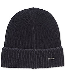 BOSS Men's Knit Wool Beanie