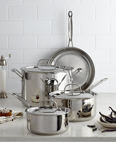 Cuisinart Chef's Classic Stainless Steel 7 Piece Cookware Set