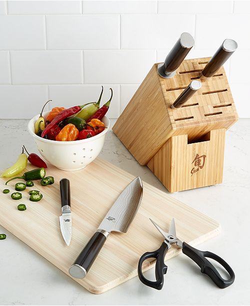 Shuns Kitchen: Shun Classic 7-Pc. Cutlery Set & Reviews