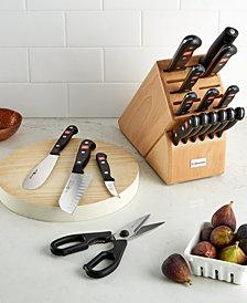 Wüsthof Gourmet 18 Piece Knife Block Set