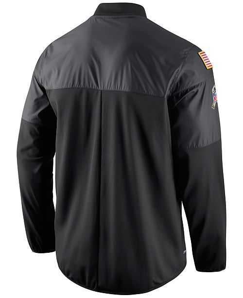 wholesale dealer 6222c 6ef6e Nike Men's Chicago Bears Salute to Service Hybrid Jacket ...