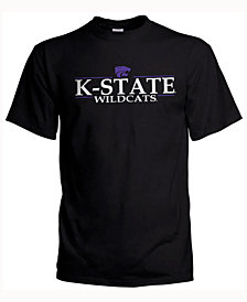 J America Men's Kansas State Wildcats Line Stack T-Shirt