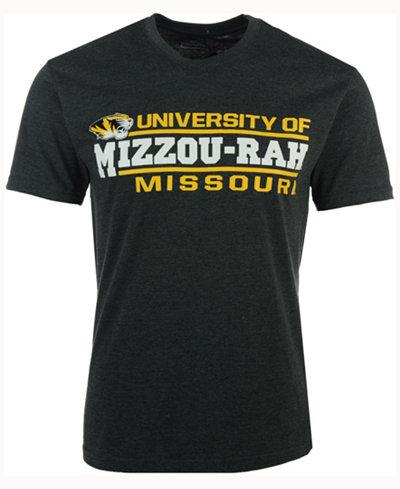 Colosseum Men's Missouri Tigers Verbiage Stack T-Shirt