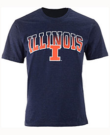 Colosseum Men's Illinois Fighting Illini Gradient Arch T-Shirt