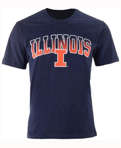 Colosseum Men's Illinois Fighting Illini Gradient Arch T-Shirt