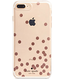 kate spade new york Rose-Gold-Tone Confetti iPhone 8 Plus Case