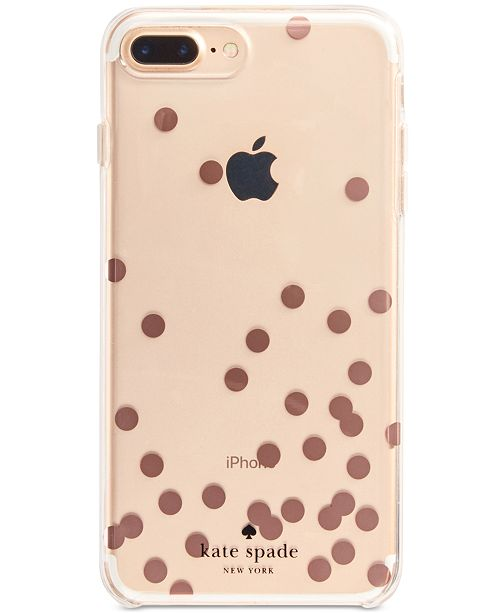 Kate Spade New York Rose Gold Tone Confetti Iphone 8 Plus