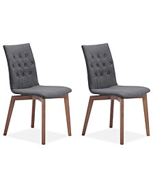 Kaya Set of 2 Side Chairs, Quick Ship