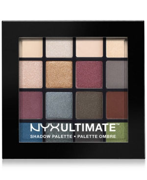 Nyx Professional Makeup Ultimate Eye Shadow Palette, Smokey