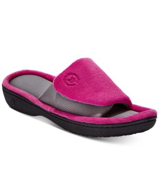 Image of Isotoner Signature Women's Microterry Adjustable Slides