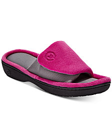 Isotoner Signature Women's Microterry Adjustable Slides