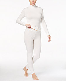 Cuddl Duds Softwear Stretch Long-Sleeve Turtleneck & Leggings