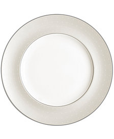 Monique Lhuillier Waterford Dinnerware, Etoile Platinum Dinner Plate