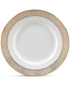 Gilded Weave Gold Appetizer Plate