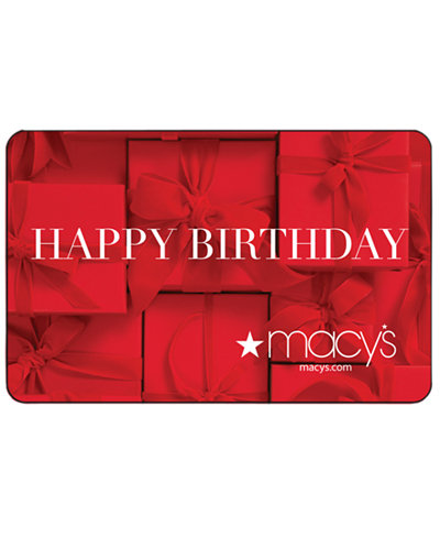 Birthday Presents E-Gift Card