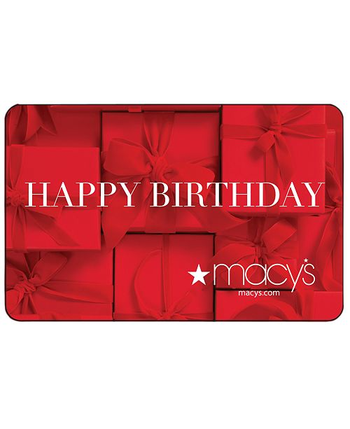 Birthday Presents E Gift Card