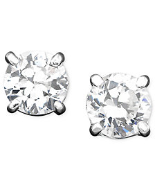 Lauren Ralph Lauren Cubic Zirconia Stud (4 mm) Earrings