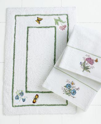 Bath Accessories, Butterfly Meadow Bath Rug