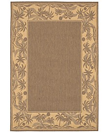 "CLOSEOUT! Recife Island Retreat Beige/Natural 2'3"" x 11'9"" Indoor/Outdoor Runner"