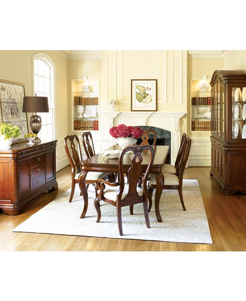 Furniture Bordeaux Dining Chair Queen Anne Arm Chair Created For
