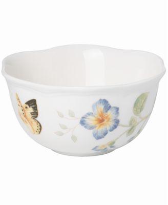 Dinnerware, Butterfly Meadow Dessert Bowl