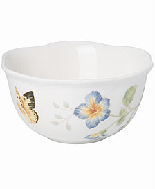 Lenox Dinnerware, Butterfly Meadow Dessert Bowl