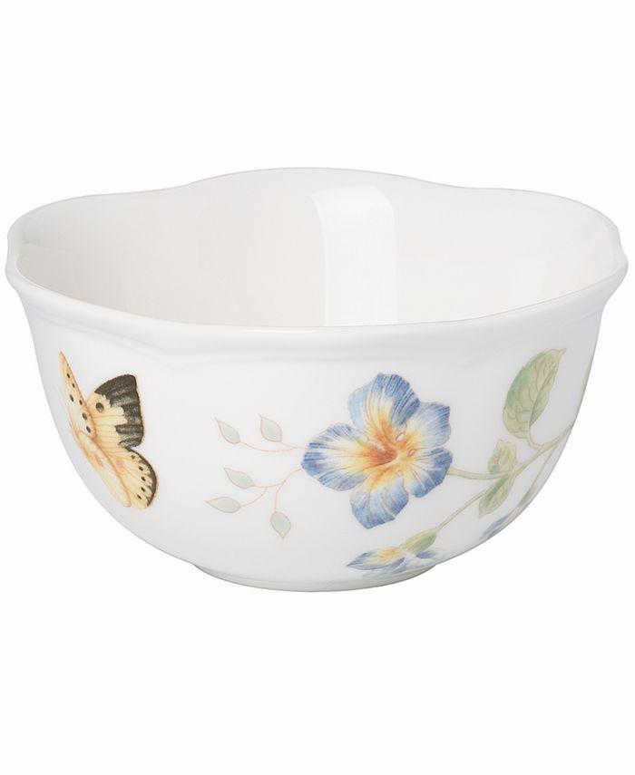 """Lenox - """"Butterfly Meadow"""" Dessert Bowl"""
