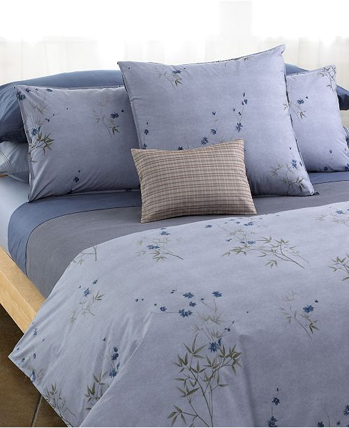 Calvin Klein Home Bamboo Flowers Bedding Collection 100
