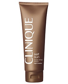 Clinique Self Sun Body Tinted Lotion, 4.2 oz.