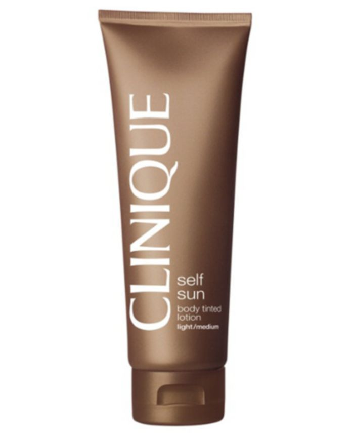 Clinique Self Sun Body Tinted Lotion, 4.2 oz. & Reviews - Skin Care - Beauty - Macy's