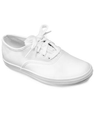 little girls white keds